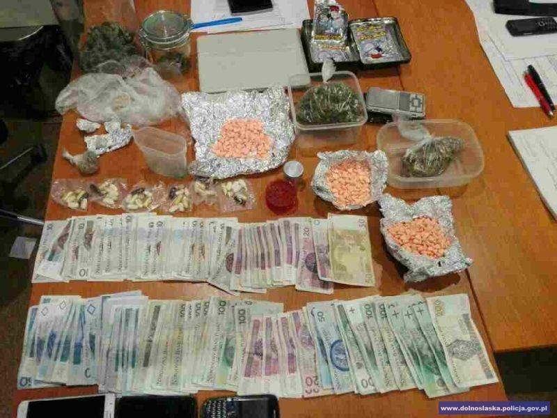 Mocne uderzenie wprzestępczość narkotykową