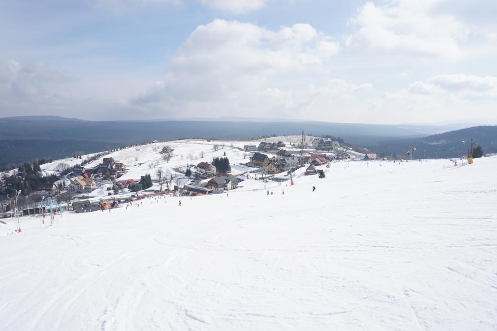 Bardzo dobre warunki narciarskie wZieleńcu