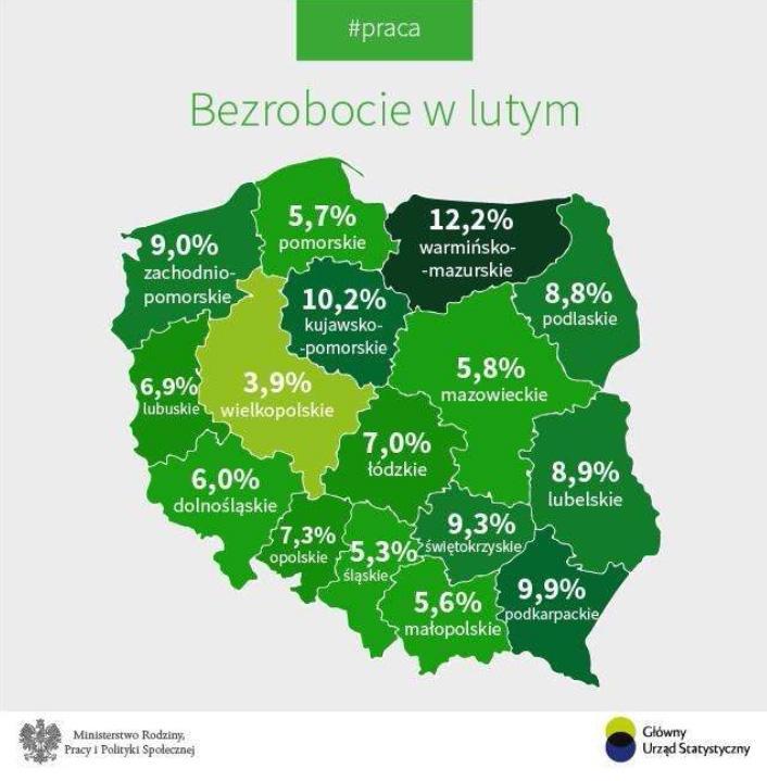 Bezrobocie na Dolnym Śląsku wciąż maleje