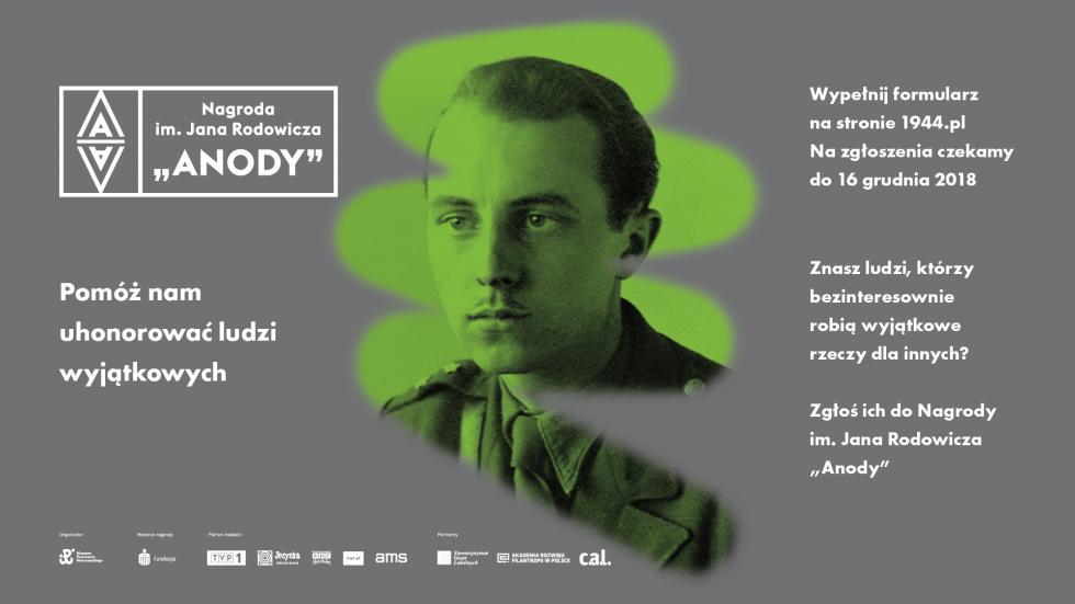 """VIII edycja Nagrody im. Jana Rodowicza """"Anody"""""""