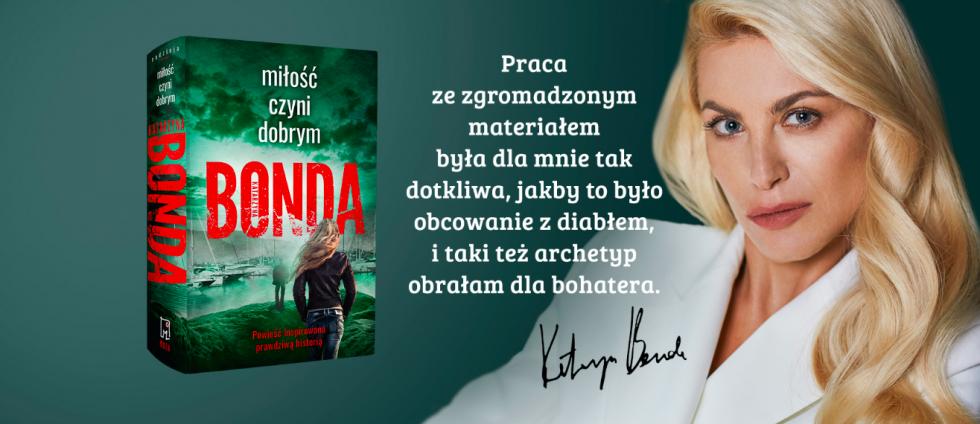 Katarzyna Bonda - ruszyła przedsprzedaż  nowej książki najpopularniejszej autorki kryminałów wPolsce -